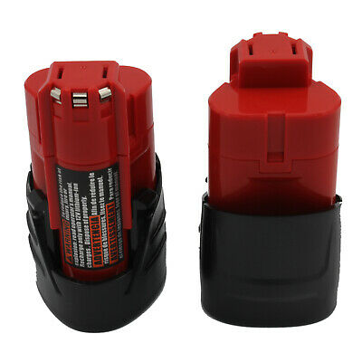 AU16.99 • Buy KINSUN 2-Pack Power Tool Battery 12V 1.5Ah Li-Ion For Milwaukee Screwdriver M12