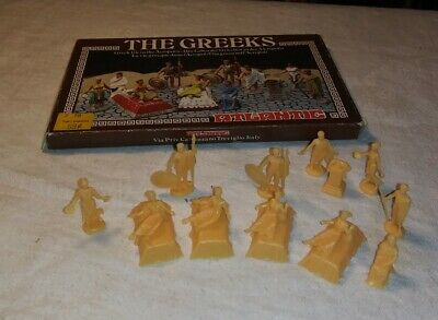 $27.50 • Buy 1970s ATLANTIC HO SCALE THE GREEKS Greek Life In The Acropolis FIGURES #1804