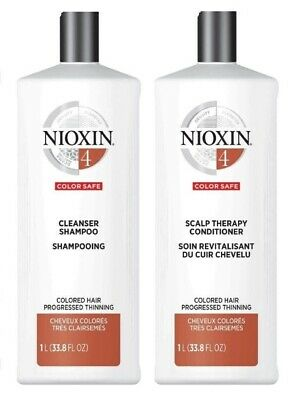 AU55.10 • Buy Nioxin System 4 Cleanser & Scalp Therapy Conditioner Set Duo 33.8 Oz