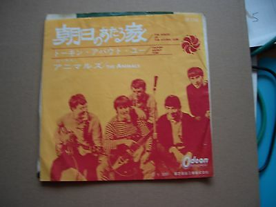 £9.99 • Buy The Animals - The House Of The Rising Sun - 7  Picture Insert - Japan Pressing