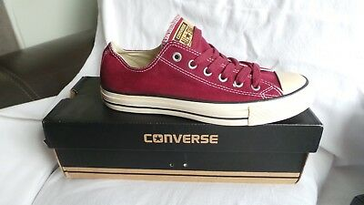 BRAND NEW In Box Converse Chuck Taylor All Star Ox Trainers Size 7 EU40 Ox Heart • 43.95£