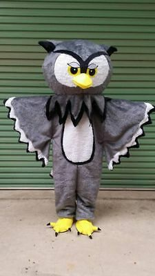 2019 Hot The Hawk Eagle Owl Mascot Costume Suit Fancy Dress Animal Cosplay Adult • 102.19£