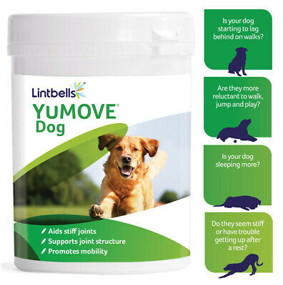 Lintbells YuMOVE Dog Supplement For Stiff And Older Dogs 60/120/300 Tablets  • 18.99£