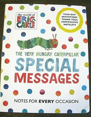 Hungry Caterpillar - 12 Sample Sheets / Pages 2 Designs - Diff Bundles NEW • 1.25£