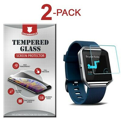 $ CDN3.80 • Buy 2-Pack Tempered Glass Film Screen Protector For Fitbit Blaze