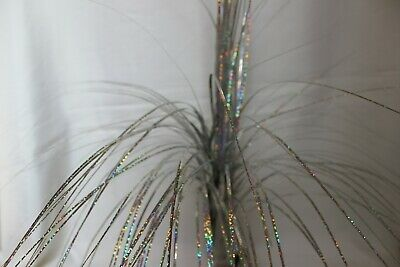 Artificial Flowers - 70CM Silver And Copper Glitter Spray Onion Grass  • 4.75£
