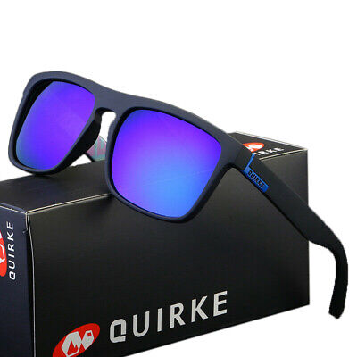 AU12.56 • Buy  QUIRKE 7 Colors Polarized Mens Sunglasses Outdoor Sports Fishing Vintage Shades