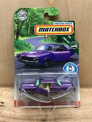 $9.99 • Buy '19 MATCHBOX 1964 PONTIAC GRAND PRIX NEW IN BOX Metal MOVING PARTS SERIES