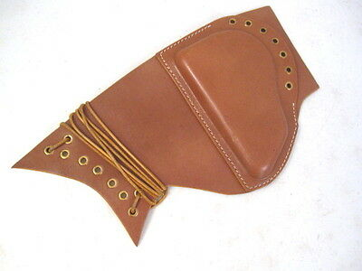 $30.99 • Buy WWII Padded Brown Leather Cheek Rest Pad For M1 M1C M1D Garand - Reproduction