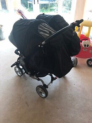 Baby Jogger City Mini Black  Double Seat Stroller • 175£