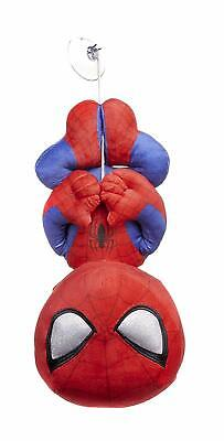 £12.95 • Buy Official Marvel Comics Spider Man Web Suction Pad 12  Soft Toy Plush Teddy Bnwt