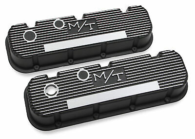 $187.95 • Buy Holley 241-85 M/T Valve Covers For Big Block Chevy Engines - Satin Black