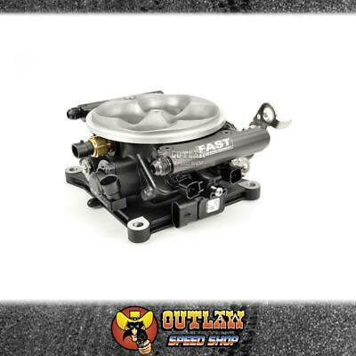 AU1925.55 • Buy Fast 4bbl Throttle Body Cast 4150 Style With Injectors & Rails - Fas304152