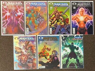 $24.99 • Buy Masters Of The Universe #3,3,4,1,3,4,1 Snake Men Image Comics Staples Lot Nm