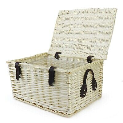 Large Natural Wicker Hamper Basket With Removable 'supadry' Ice Bucket Inner • 14.95£