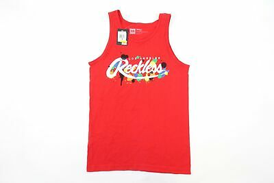 Young & Reckless Y&r Red Small Paint Art Franz Tank Top Tshirt Mens Nwt • 10.48£