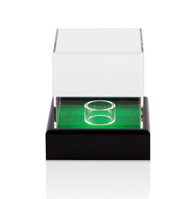 Small Ball Empty Acrylic Display Case - Snooker/Golf Ball Autograph • 45.99£