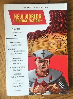New Worlds Science Fiction No. 73, July 1958 Published By Nova Publications • 7.50£