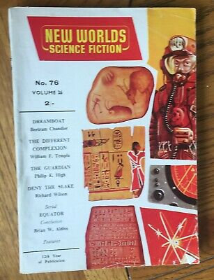 New Worlds Science Fiction No. 76, Oct 1958 - Published By Nova Publications • 7.50£