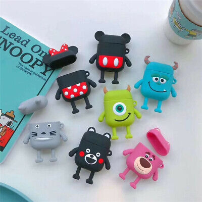 3D Disney Minnie Unicorn Soft Earphone Case Cover For Apple Airpods Charger Case • 3.25£