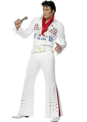 Adult American Eagle Deluxe Elvis Costume • 69.99£