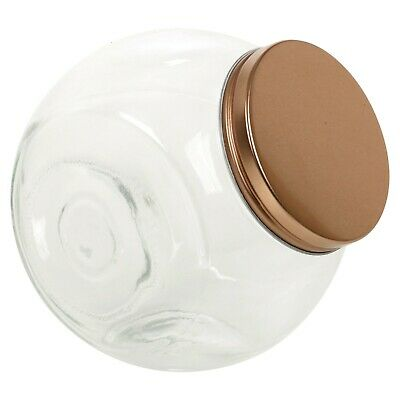 1.6 Litre Hermetic Glass Candy Cookie Chocolate Jar Decorative Sweet Container  • 6.49£