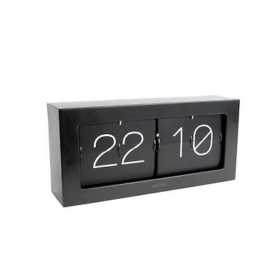 £129.40 • Buy Karlsson Boxed Flip XL Wall / Table Clock Retro Style 37cm Wide Statement Clock