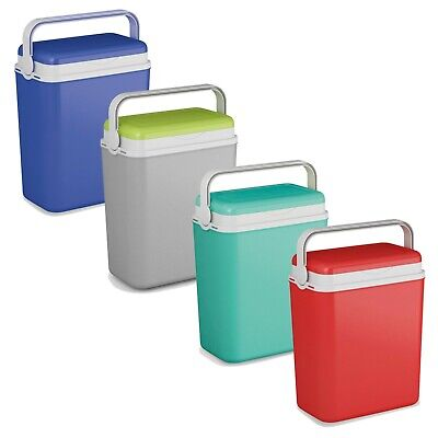 Large 12 Litre Cooler Box Camping Beach Lunch Picnic Insulated Food Ice Packs • 13.99£