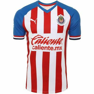 Chivas Home Soccer Jersey 2019-2020 New With Tags Fast Shipping • 24.99$