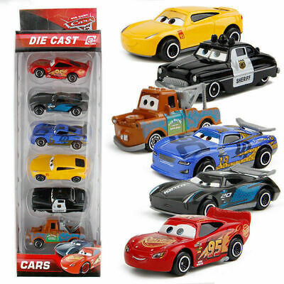 AU15.99 • Buy 6Pcs Set Pixar Cars 3 Lightning McQueen Racer Diecast Cars Collection B-day Toy