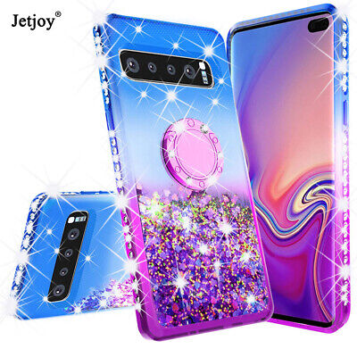 $ CDN6.69 • Buy Bling Glitter Liquid Stand Phone Case Cover For Samsung Galaxy S8 S9 S10 Plus +