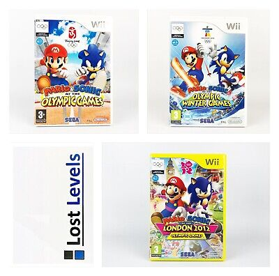 Wii - Mario & Sonic Olympic Games - Choose Your Title -*Multi Listing* • 6.97£