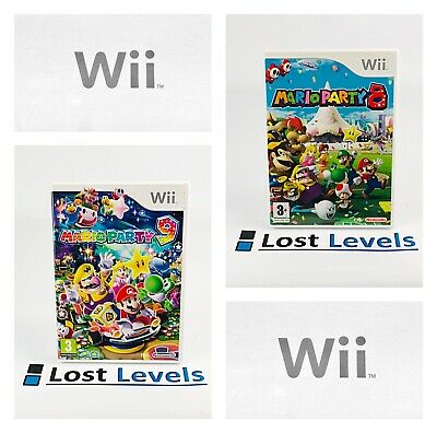 Wii - Mario Party 8 OR Mario Party 9 - Boxed - VGC - *Multi-Listing* • 16.97£