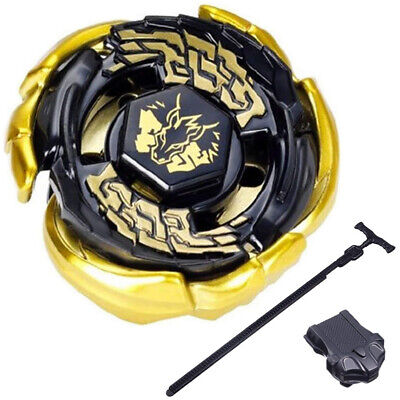 $7.69 • Buy Gold Galaxy Pegasis Beyblade Black Hole Sun W103r2f 4d STARTER SET WITH LAUNCHER