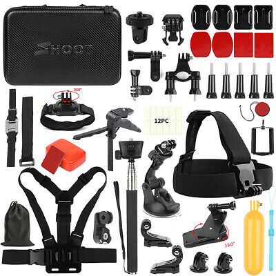 $ CDN64.29 • Buy Accessories Kit  Fr GoPro HERO7 Black Silver White/6/5/4/3+/3/5 Session/Hero2018