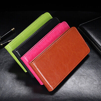 AU12.12 • Buy Luxury Flip Vertical Magnetic Phone Cover Leather Skin Case For Apple/Sony/Asus