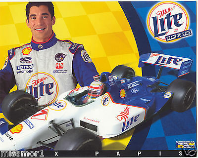 $7 • Buy Max Papis 1999 Miller Lite Ford Racing Promotional Picture Signature Card CART