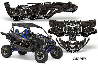 UTV Decal Graphic Kit Side By Side Wrap For Yamaha YXZ 1000R 2015-2018 REAPER K • 393.81£
