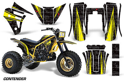 AU249.52 • Buy 3 Wheeler Graphics Kit Decal Sticker Wrap For Yamaha Tri Z 250 85-86 CONTEND Y K