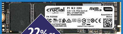 AU82 • Buy Crucial P1 500GB SSD M.2 NVMe PCIe Internal Solid State Drive CT500P1SSD8