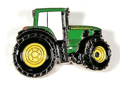 Tractor Green Enamel & Metal Lapel Gift/ Pin Badge - 20mm BRAND NEW • 3.99£
