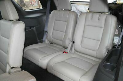 $419.99 • Buy 2013 FORD EXPLORER 3rd Third Row Rear Back Seat Bench Gray Leather Manual 654410