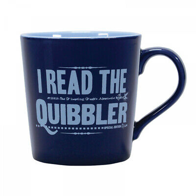 £11.95 • Buy Official Harry Potter Luna Lovegood Quibbler Tapered Coffee Mug Cup New Gift Box
