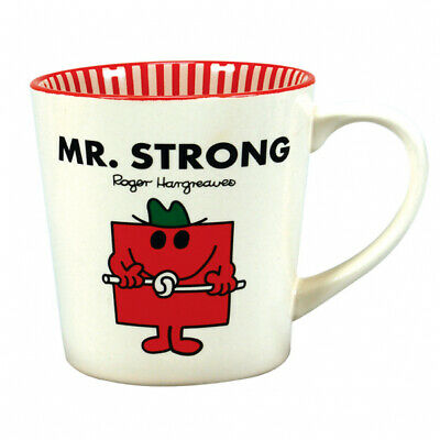 £12.95 • Buy Mr Men Mr Strong Number 1 Dad Coffee Mug Cup Fathers Day New In Gift Box *
