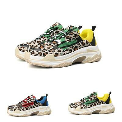 935bb73046e7 Mens Leopard Print Low Top Running Outdoor Sport Sport Fashion Sneakers  Shoes • 35.19$