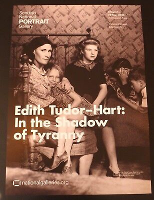 Edith Tudor-Hart - In The Shadow Of Tyranny   2013 ART EXHIBITION POSTER • 24.99£