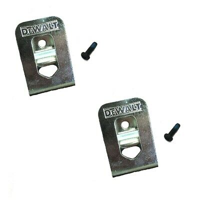 $8.49 • Buy DeWalt OEM N268241 N169778 (2-Pack) Belt Clip/hook For 20V DCD980 DCD985 DCD791