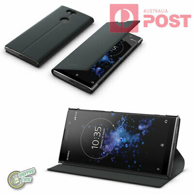 AU34.95 • Buy OFFICIAL GENUINE ORIGINAL SONY SCSH60 XPERIA XA2 Plus Style Cover Stand Case