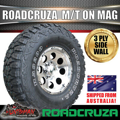 AU397 • Buy 16  GT Alloy Mag Wheel & 305/70R16 Roadcruza Mud 4wd Tyre 305 70 16 118Q Tire