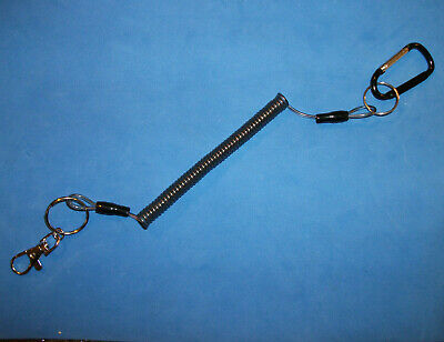Lanyard For Metal Detector Pinpointer Probe Strong Steel Coiled Metal Detecting • 6.99£